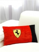 Ferrari 'Classic Logo' Embroidered Cushion