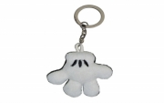 Disney Mickey Mouse 'Hand' Soft Keyring