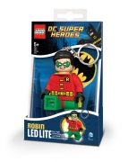 Lego Dc Super Heroes 'Robin' Keyring Led Light