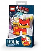 The Lego Movie 'Angry Kitty' Keyring Led Light