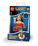 Lego Dc Super Heroes 'Wonder Woman' Keyring Led Light