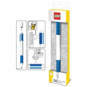 Lego 'Blue' Gel Pen Stationery