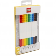 Lego 9 Pack 'Assorted Colours' Gel Pen Stationery