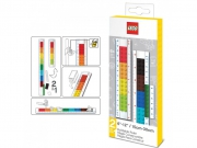 Lego 'Convertible' Ruler Stationery