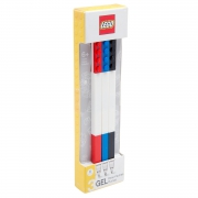 Lego 3 Pack 'Assorted Colours' Gel Pen Stationery