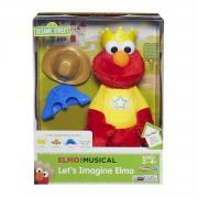 Sesame Street Let' S Imagine Elmo Figure Toy