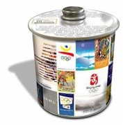 Storage Olympics London Wembley 2012 'Historic' Cookie Tin Kitchen Accessories