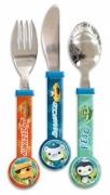 Octonauts 3 Piece Round End Cutlery