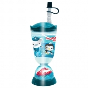 Octonauts 'Explore, Rescue, Protect' Glitter Dome Bubble Tumbler