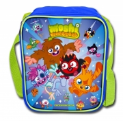 Moshi Monsters Blue School Premium Lunch Bag Insulated