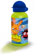 Moshi Monsters Boys 400ml Aluminum Water Bottle