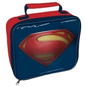 Superman Man of Steel School Rectangle Lunch Bag