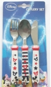 Disney Mickey Mouse 3 Piece Stainless Steel Cutlery