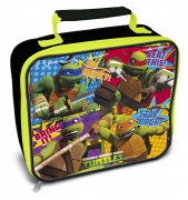 Teenage Mutant Ninja Turtles 'Black' School Premium Lunch Bag Insulated