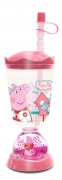 Peppa Pig 'Home Sweet Home' Glitter Dome Bubble Tumbler