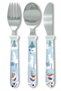Disney Frozen 'Olaf' Straight Handle Cutlery