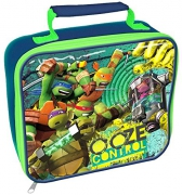 Teenage Mutant Ninja Turtles 'Ooze Control' School Premium Lunch Bag Insulated