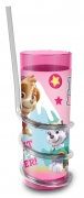 Paw Patrol Girls 'Best Pups Ever' Twisty Straw Tumbler