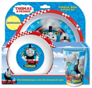 Thomas The Tank Engine 'Racing Train' Tbp Dinner Set