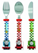 Thomas 'Racing Train' Shaped Cutlery