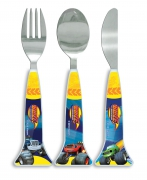 Blaze and The Monster Machines 'Shaped' Cutlery
