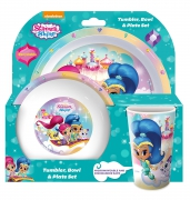 Shimmer and Shine 'Tbp' Dinner Set