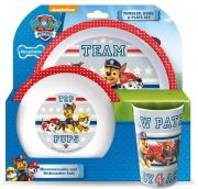 Paw Patrol 'Teamwork' Tbp Dinner Set