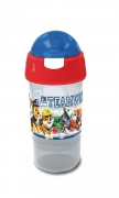 Paw Patrol Sip N Snack Blue Bottle & Pot 2 In 1