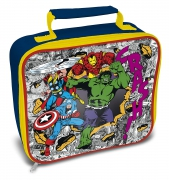 Marvel Avanger Crash School Rectangle Lunch Bag