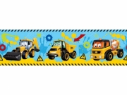My 1st Jcb 7inch Border Wall Decoration