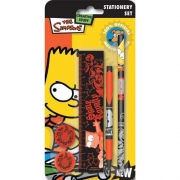 Bart Simpsons Stationery Set