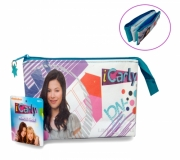 Icarly '3 Pocket' Pencil Case Stationery