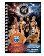 WWE 'A5' Notebook Stationery