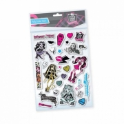 Monster High 'Puffy' Padded Sticker Wall Decoration