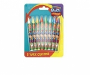 Mike The Knight 8 Pack Wax Crayon Stationery