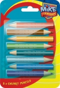 Mike The Knight 8 Pack Chunky Crayon Stationery