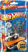 Hot Wheels Rubber Scribble Set Stationery