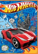 Hot Wheels 24 Pc Mini Art Pack Stationery