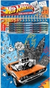 Hot Wheels Travel Colouring Set Stationery