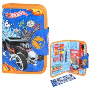 Hot Wheels Chunky Filled Pencil Case Stationery