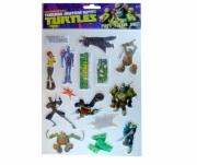 Teenage Mutant Ninja Turtles 'Puffy' Sticker Set Decoration