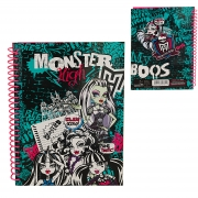 Monster High A5 Notebook Stationery