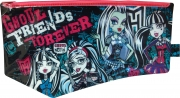 Monster High Large Flat Pvc Pencil Case Stationery