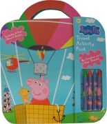 Peppa Pig 'Travel Activity Pack' Pack Stationery