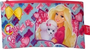 Barbie 'Large Flat Pencil Case' Pvc Case Stationery