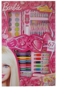Barbie New 67 Pc Complete Art Pack Stationery