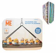 Despicable Me Minions Colouring and Activity Placemats Stationery