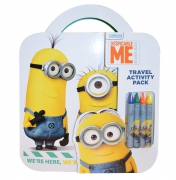 Despicable Me Minions 'Travel Activity Pack' Pack Stationery