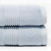 Towel Plain Dye Zero Twist 550gsm Duckegg Face
