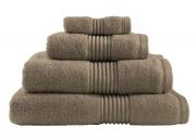 Towel Catherine Lansfield Zerotwist 550gsm Mink Plain Bath